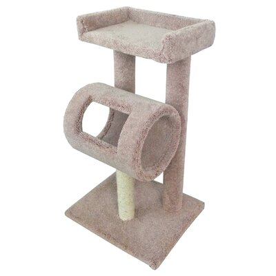42 Premier Climber Cat Tree Color: Brown