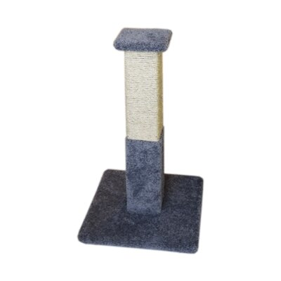 33 Premier Solid Wood Scratching Post Color: Gray