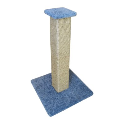 33 Ultimate Full Sisal Cat Scratching Post Color: Blue