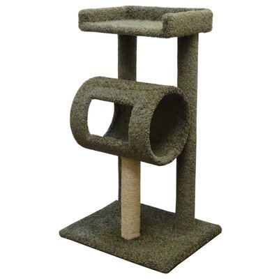 42 Premier Climber Cat Tree Color: Green