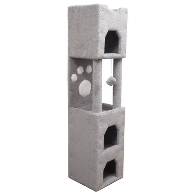 71 Premier Cat Tree Color: Gray