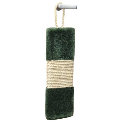 20 Premier Door Hanging Scratching Board Color: Green