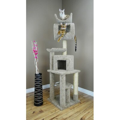 72 Premier Playstation Cat Tree Color: Gray