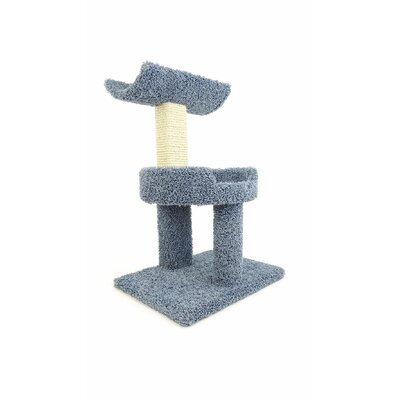 28 Premier Window Cat Perch Color: Blue