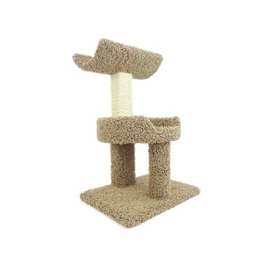 28 Premier Window Cat Perch Color: Brown