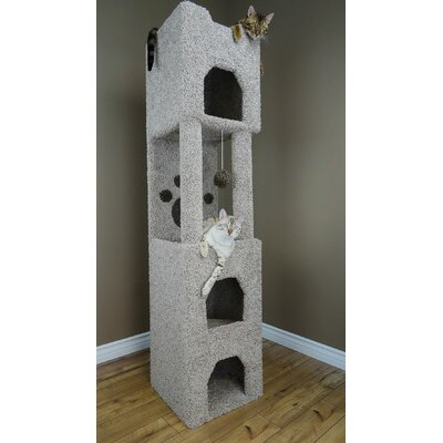 71 Premier Cat Tree Color: Beige