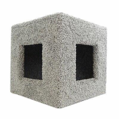20 Premier Pet Hiding Cube Cat Condo Color: Gray