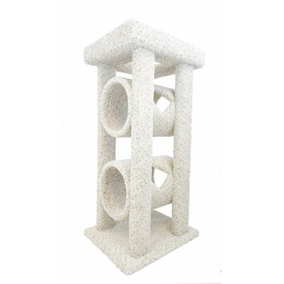 48 Cat Tree Color: Beige