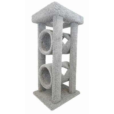 48 Cat Tree Color: Gray