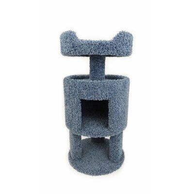 32 Premier Contemporary Cat Condo Color: Blue