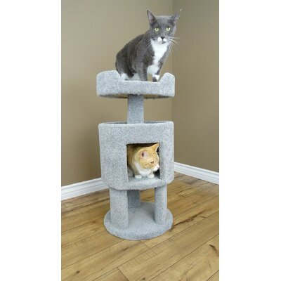 32 Premier Contemporary Cat Condo Color: Gray