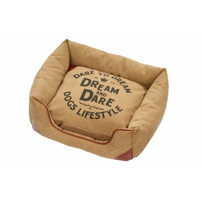 Lifestyle Pet Sofa Bed Size: Medium, Color: Raw Sienna