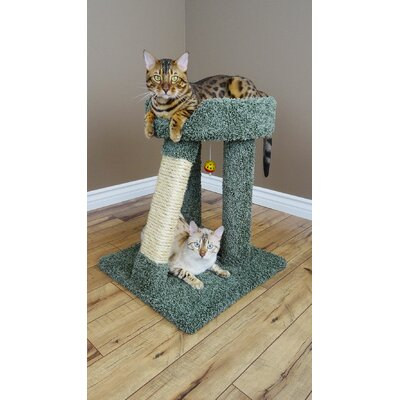24 Premier Elevated Cat Perch Color: Green