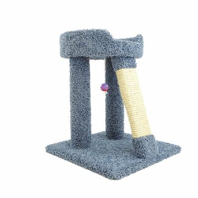 24 Premier Elevated Cat Perch Color: Blue