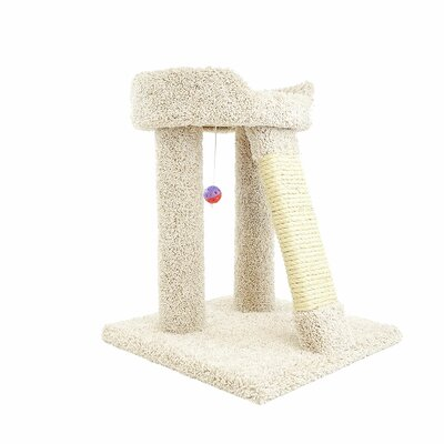 24 Premier Elevated Cat Perch Color: Beige