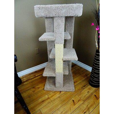 Four Level 46 Cat Tree