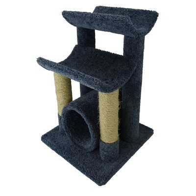 29 Premier Cat Tree Color: Blue