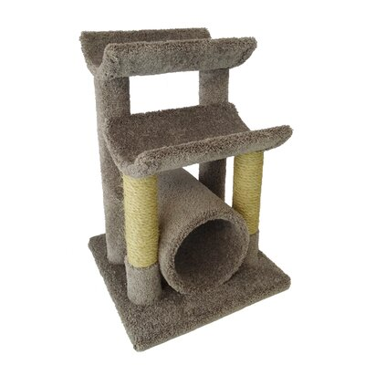 29 Premier Cat Tree Color: Gray