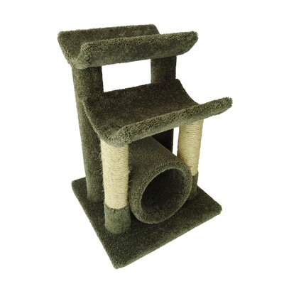 29 Premier Cat Tree Color: Green