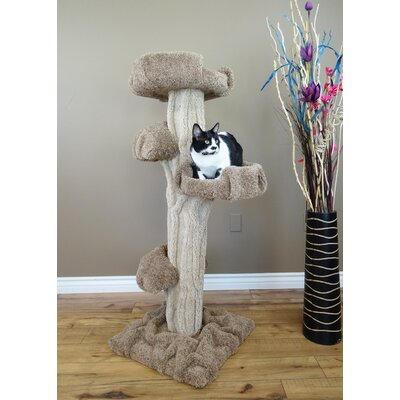 51 Premier Cat Tree Color: Brown/Beige