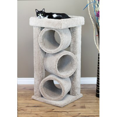 44 Premier Triple Cat Perch Color: Beige
