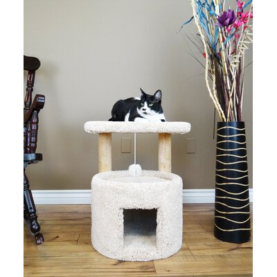 24 Premier Cat Perch Color: Beige