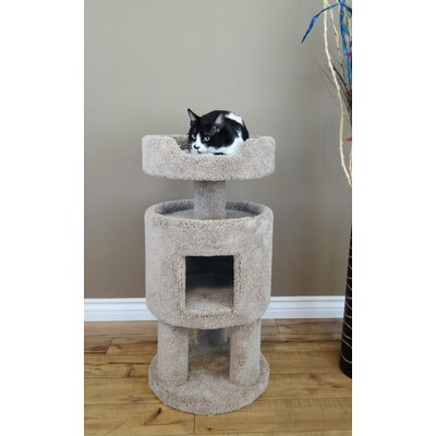 32 Premier Contemporary Cat Condo Color: Beige