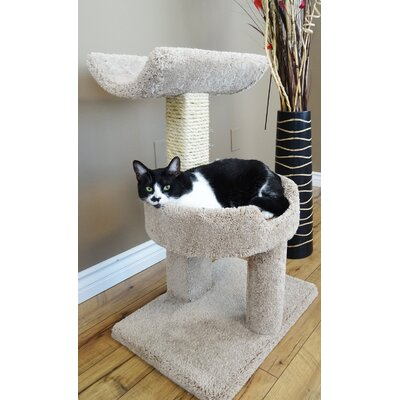 28 Premier Window Cat Perch Color: Beige