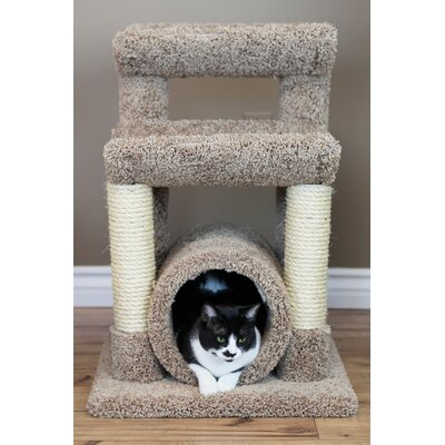 29 Premier Cat Tree Color: Brown