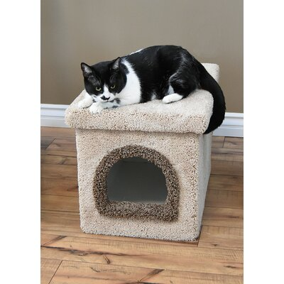 Premier Litter Box Enclosure Color: Beige, Size: 20 H x 20 W x 33 D