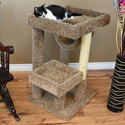 38 Premier Cat Perch Color: Brown