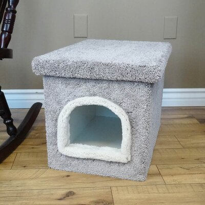Premier Litter Box Enclosure Color: Gray, Size: 20 H x 20 W x 33 D