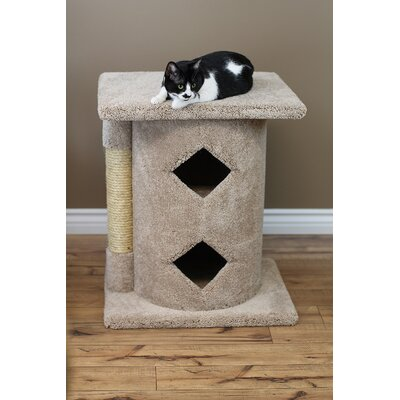 28 Premier 2 Story Cat Condo Color: Beige