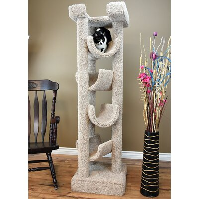 72 Premier Cat Tree Color: Beige