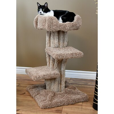 33 New Premier Cat Condo Color: Brown