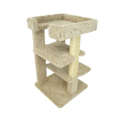 33 New 3 Level Cat Condo Color: Beige
