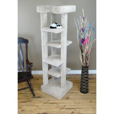 71 New 5 level Cat Condo Color: Beige