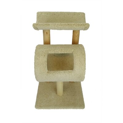 32 New Kitty Cat Condo Color: Beige