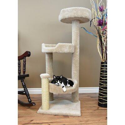 50 New Cat Condo Color: Beige