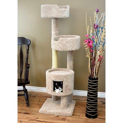 64 New  Cat Condo Color: Beige