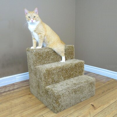 Premier Pet Stairs Color: Brown