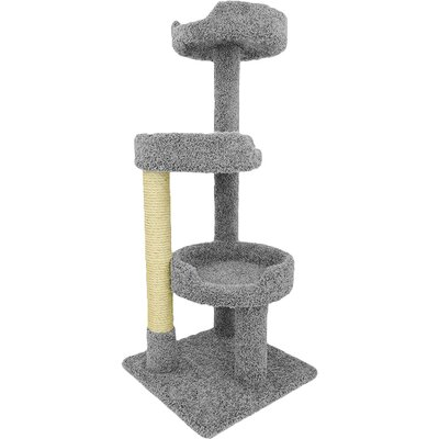 50 Premier Kitty Pad Cat Tree Color: Gray