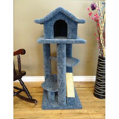 46 Premier Cat Pagoda Tree Color: Blue