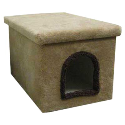 Enclosure Cat Litter Box Color: Green