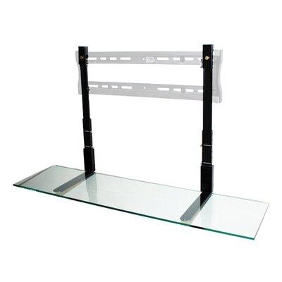 LCD TV Shelf Shelf Finish: Clear Glass