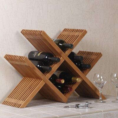 Chesterville 16 Bottle Tabletop Wine Rack