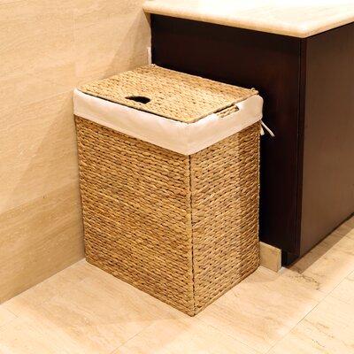 Foldable Wicker Laundry Hamper WEB290