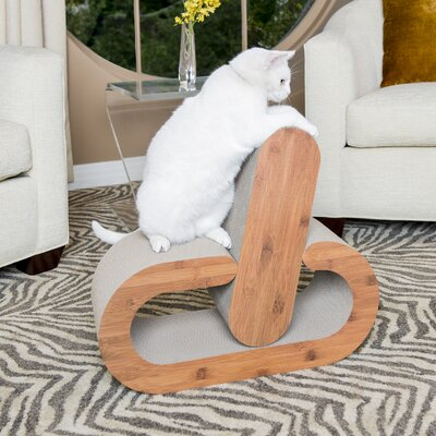 2 Piece Cat Scratching Board Set