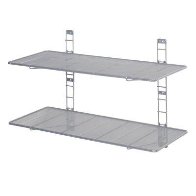 2 Tier Heavy Duty Floating Wall-Mounted Storage Shelf WEB473