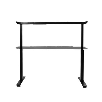 Airlift 47.4 H x 62.9 W Desk Base Finish: Black